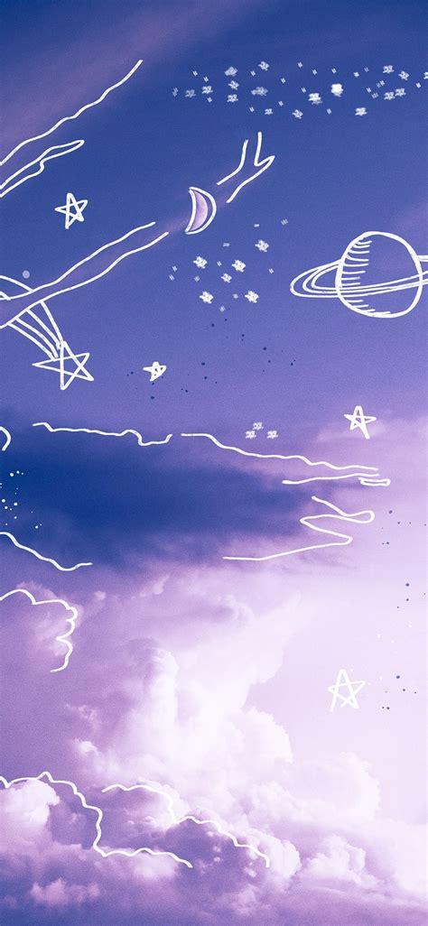 aesthetic wallpaper iphone purple