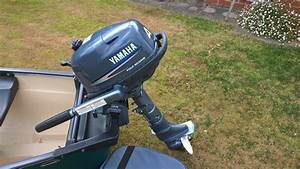 Yamaha 4hp Four Stroke Outboard Engine 2008 With Carry Bag