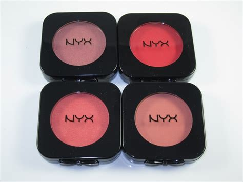 nyx hd blush review swatches musings of a muse
