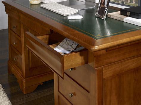 bureau merisier bureau en merisier style louis philippe