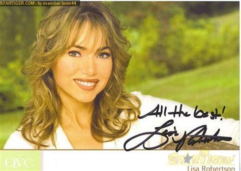 Lisa Robertson Autograph Collection Entry At Startiger