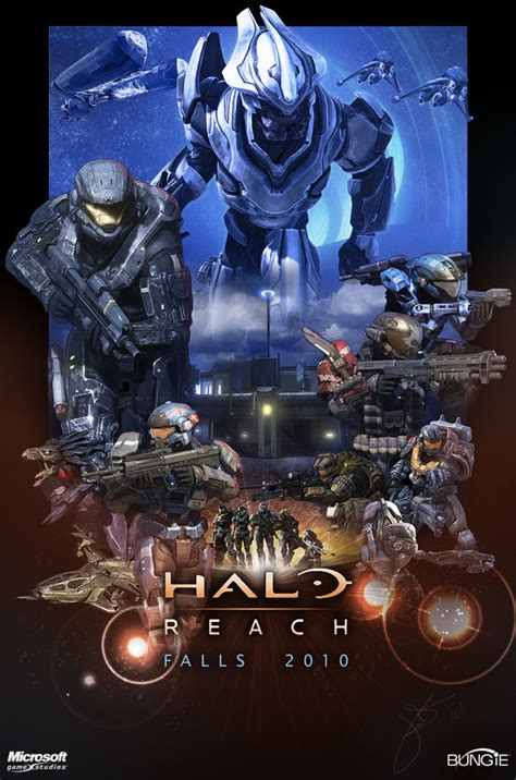 halo fan game download halo reach poster by halcylon on deviantart