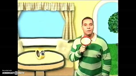 Blue's Clues Uk Promo (2001, Now Available)