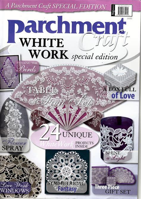 parchment craft parchment craft magazine
