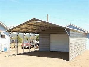 Metal Carport Replacement Legs How To Raise A Building