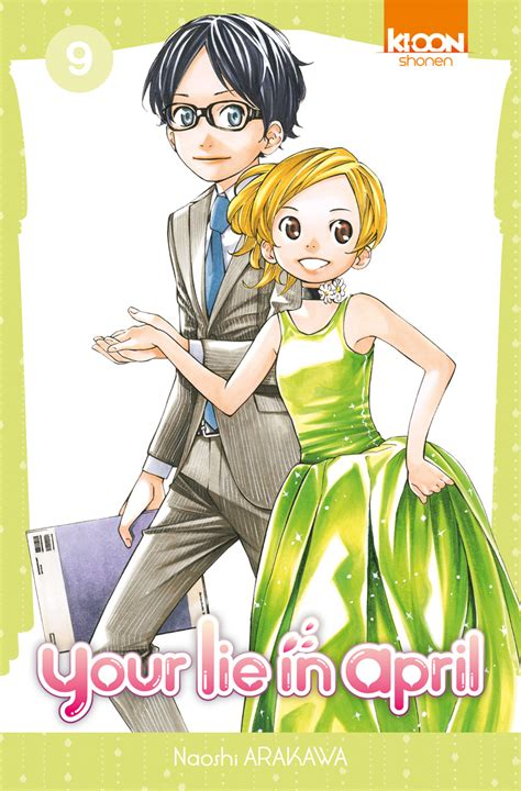 Your Lie In April 9  Manga Mag