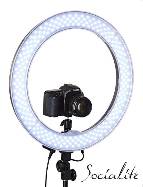 led ring light socialite 18 inch led photo ring light kit for