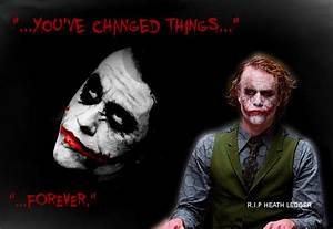 R.I.P Heath Ledger - The Joker Fan Art (25124494) - Fanpop