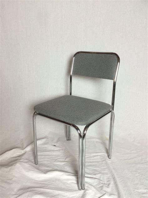buisframe stoel chrome buisframe eetkamerstoelen uit de jaren 60 set