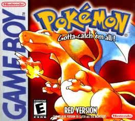 pokemon red game boy