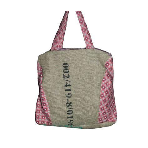 sac 224 en toile de jute de caf 233 recycl 233 du honduras tissu r 233 tro vintage fabrication