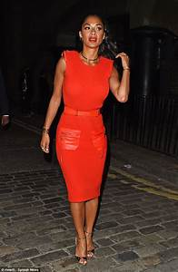 Nicole Scherzinger wows on X Factor night out | Daily Mail ...