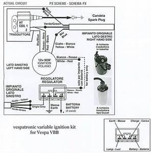 Modern Vespa   Strange Electrical Woe