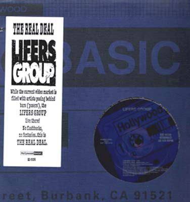 Lifers Group - The Real Deal (1991, Vinyl) | Discogs