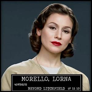 Other Wild Things: Orange Is The New Black: Lorna Morello