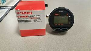Yamaha Outboard Digital Speedometer 6y5