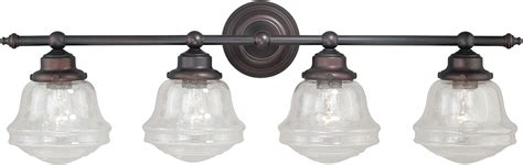 Rubbed Bronze Light Fixtures For Bathroom by Bathroom Light Fixtures Bronze Wall Light Fixture With
