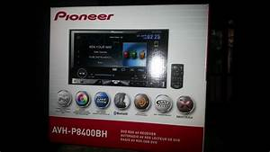Pioneer Avh-p8400bh Unboxing    Install