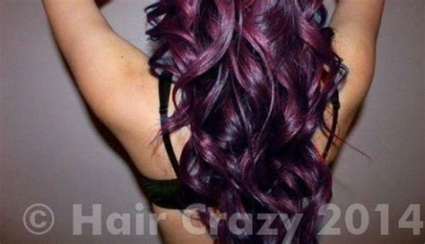 Directions Plum And Rubine On Dark Brown Hair?