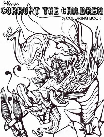 Coloring Pages Kinky Template Colorings Printable Toy