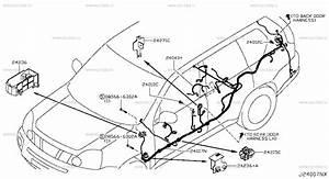 240 - Wiring  U043d U0430 X-trail T31 Nissan X-trail