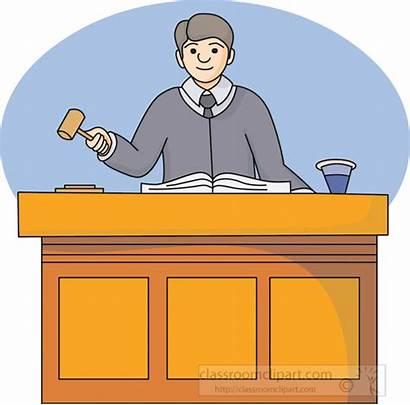 Judge Courtroom Clip Clipart Court Lawyer Legal