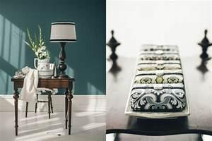Salbei Farbe Wand : zimmer farbgestaltung frisches salbeigr n im innendesign ~ Michelbontemps.com Haus und Dekorationen