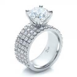 platinum wedding band with diamonds stunning photos of platinum wedding rings with pave diamonds wedwebtalks