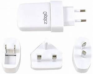 Ceptics Worldwide 2 1a Dual Travel Usb Adapter Charger