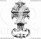 Door Knocker Illustration Clipart Coloring Retro Vector Prawny Royalty Template sketch template