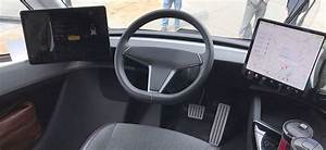 Tesla Semi Truck's rare interior pictures emerge from Sacramento, CA