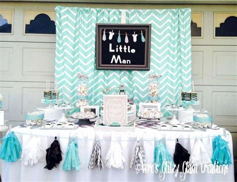 simple baby shower themes 37 creative spring baby shower ideas for boys table decorating ideas