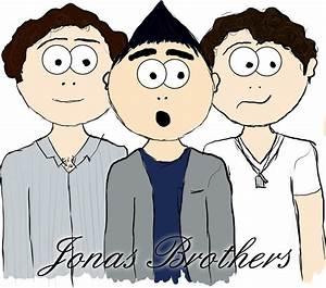 Jonas Brothers cartoon sketch by Celinesoloni on deviantART