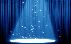 Stock detail blue curtains with spotlight official psds for Blue curtains with spotlight