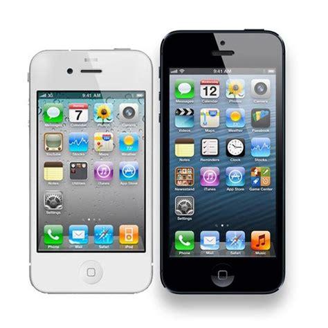 iphone 4 vs iphone 5 iphone 5 vs iphone 4s comparison review pc advisor