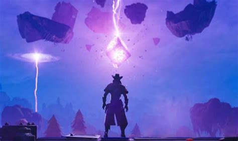 fortnite event time  cube reveal  time