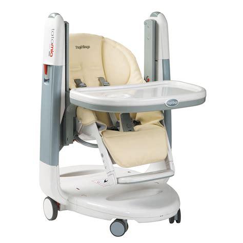 chaise haute reglable chaise haute réglable tatamia de peg perego chez