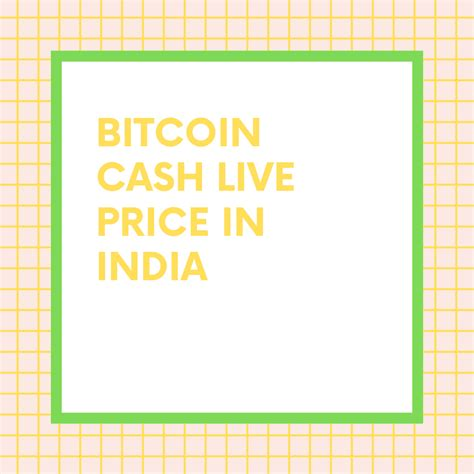 Discover info about market cap, trading volume and supply. 1 BCH to INR   Convert Bitcoin Cash to INR   Bitcoin Cash ...