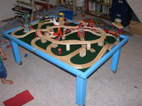 thomas the tank engine table my son 39 s quot thomas the tank engine quot table by mark