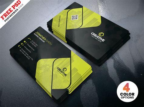 creative business cards design psd template  psd
