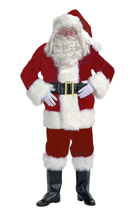 burgundy velvet santa suit santa supply online