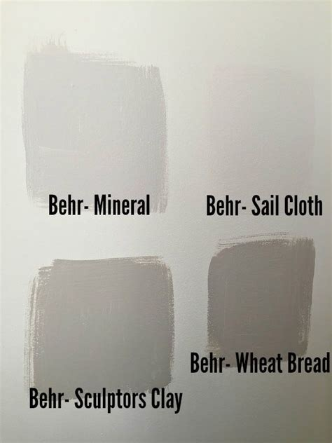 guest bedroom makeover paint swatches greige paint