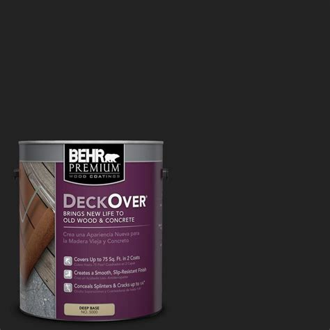 behr deck cleaner 64 behr premium deckover 1 gal sc 102 slate wood and