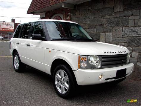 2004 Chawton White Land Rover Range Rover Hse #12342325