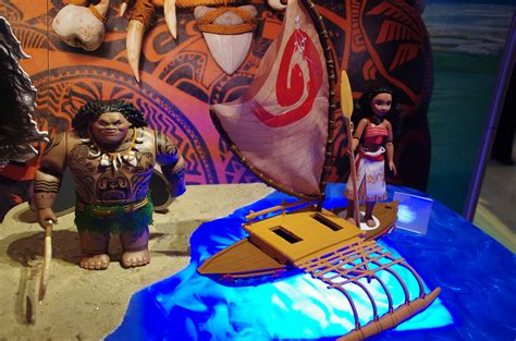 Hasbro Moana Boat by Fair New York 2016 Part 2 Top Companies And Licenses