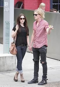 Lily Collins New Boyfriend Pictures   POPSUGAR Celebrity