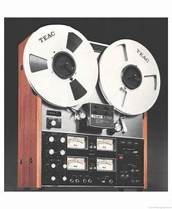 Teac A-3340 - Manual - Stereo Tape Deck