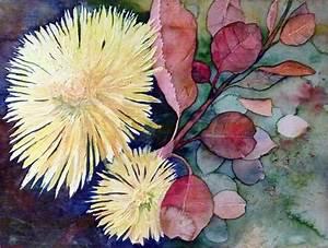 Aquarell Malen Blumen : aquarellkurs chrysanthemen und astern leuchtende ~ Articles-book.com Haus und Dekorationen
