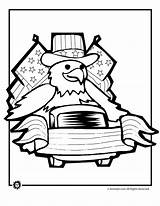 July Coloring 4th Pages Parade Eagle Printables Summer 2009 sketch template