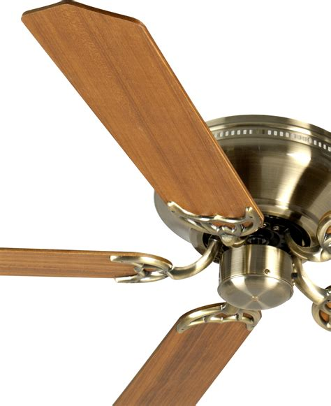 Craftmade Ceiling Fan In Antique Brass With 52 Custom